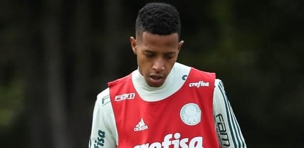 Tchê Tchê Palmeiras treino Academia de Futebol