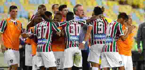 Fluminense não perde um jogo desde a partida diante do líder Corinthians - Lucas Merçon/Fluminense FC