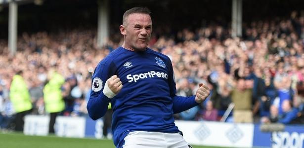 Rooney já marcou na temporada pelo Everton