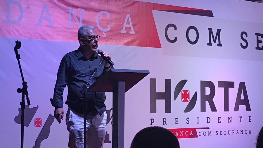 Presidente da Unidos da Tijuca, Fernando Horta foi candidato à presidência do Vasco em 2017 - Bruno Braz / UOL Esporte