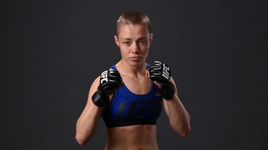 Rose Namajunas, desafiante ao cinturão dos palhas do UFC - Mike Roach/Zuffa LLC/Zuffa LLC via Getty Images