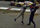 Da família Piquet ao kart, relembre 10 brigas surreais entre pilotos - Reprodução de TV