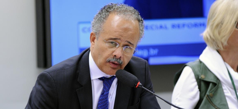 Deputado Vicente Cândido (PT-SP), durante sessão na Câmara dos Deputados - Lúcio Bernardo Jr / Câmara dos Deputados
