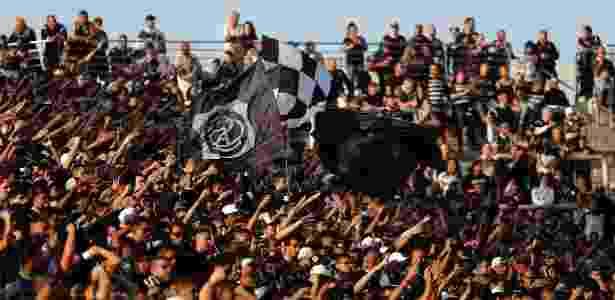 Torcida do Corinthians durante dérbi - Daniel Vorley/AGIF - Daniel Vorley/AGIF