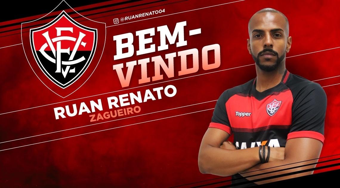 Ruan Renato, novo zagueiro do Vitória