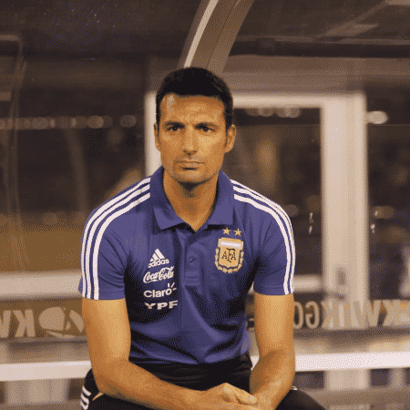 Scaloni é técnico da seleção argentina desde o fim da Copa do Mundo da Rússia - Reprodução/Twitter