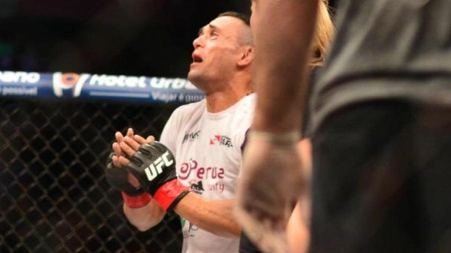 Lutador do UFC, Douglas Silva de Andrade tem maior chance na organização - Fernando Monteiro/Ag. Fight