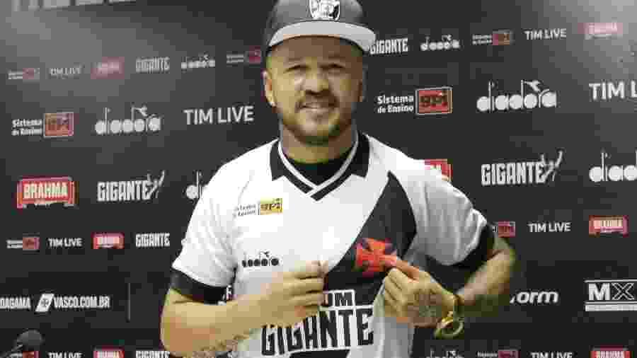 Atacante Rossi anunciou que não permanecerá no Vasco em 2020. Ele tem propostas de Flu, Ceará e Bahia - Carlos Gregório/Vasco