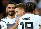 Durante goleada contra a Estônia, Alemanha relembra 7 a 1 e provoca Brasil - REUTERS/Ralph Orlowski