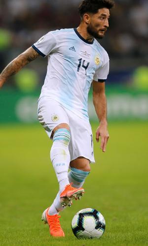 Milton Casco, jogador da seleção da Argentina