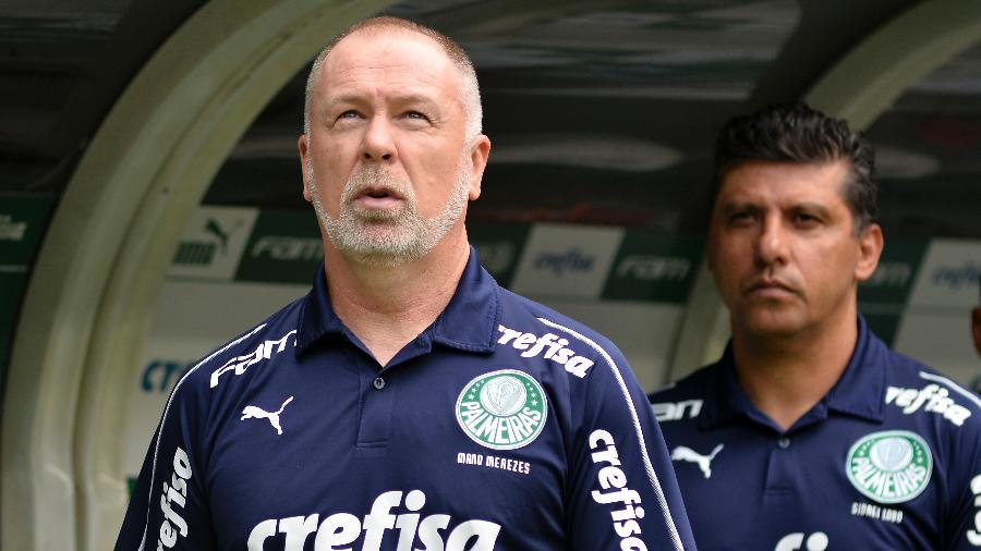 Mano Menezes antes do duelo entre Palmeiras e Flamengo - Bruno Ulivieri/AGIF