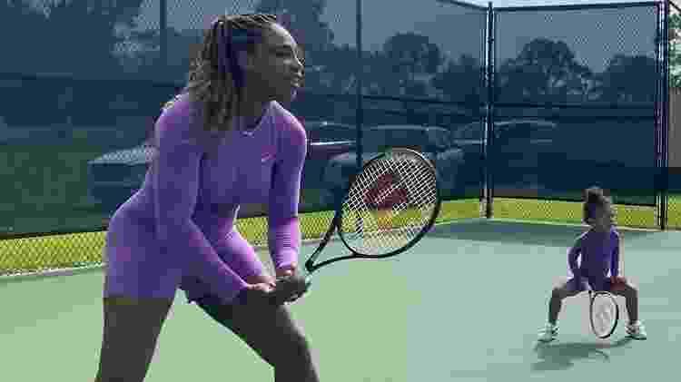 olympia - Reprodução/Instagram/Serena Williams - Reprodução/Instagram/Serena Williams