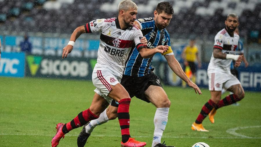 Kannemann volta ao Grêmio e se prepara para final da Copa do Brasil - Foto: Alexandre Vidal / Flamengo