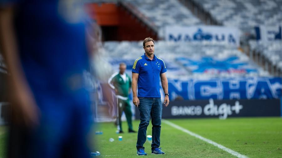 Treinador do Cruzeiro confia na classificação mesmo com vantagem do América-MG - Bruno Haddad/Cruzeiro