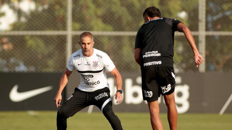 Sylvinho estreia hoje (30) no comando do Corinthians  - Rodrigo Coca/ Ag. Corinthians