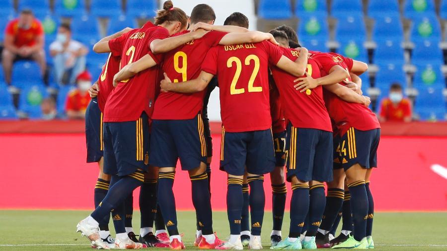 Jogadores da Espanha serão vacinados para a disputa da Eurocopa - JUAN MEDINA/REUTERS