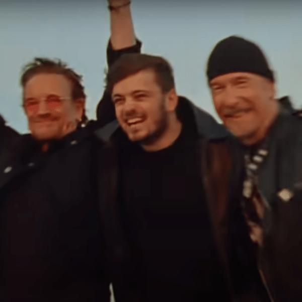 Bono, Martin Garrix e The Edge são os artistas da música oficial da Eurocopa