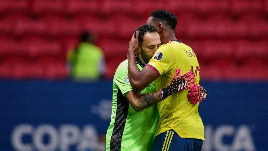 O goleiro Ospina não joga a disputa de terceiro lugar da Copa América - Mateus Bonomi/AGIF