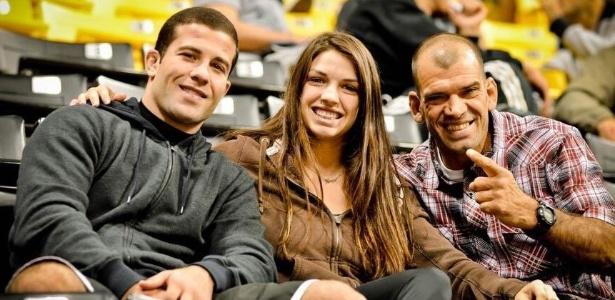Augusto Tanquinho (à esquerda) estreia no UFC contra Cody Garbrandt - Divulgação/IBJJF