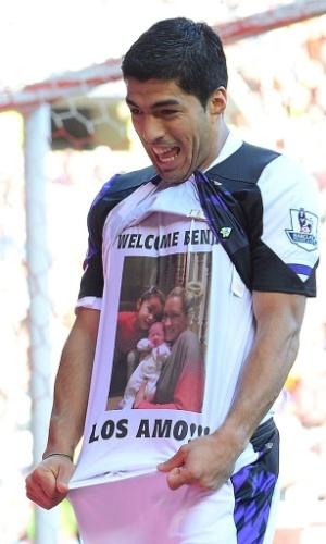 Suárez presta homenagem para a família após nascimento de Benjamin