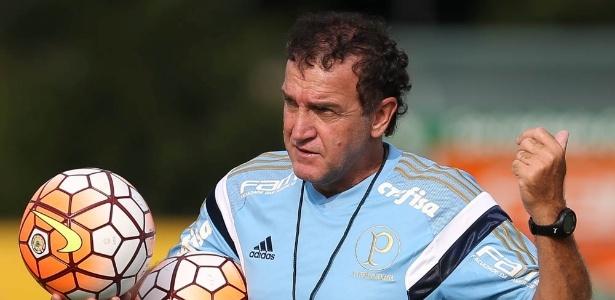 Cuca comandará o Palmeiras pela terceira vez em partida contra o Red Bull - Cesar Greco/Ag Palmeiras