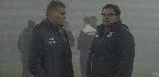Guto Ferreira comanda a Chapecoense, sétima colocada do Brasileirão