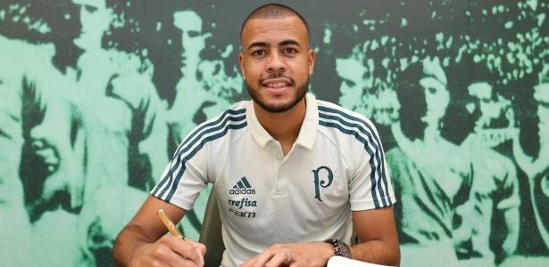 Mayke deixou o Cruzeiro para assinar contrato com o Palmeiras