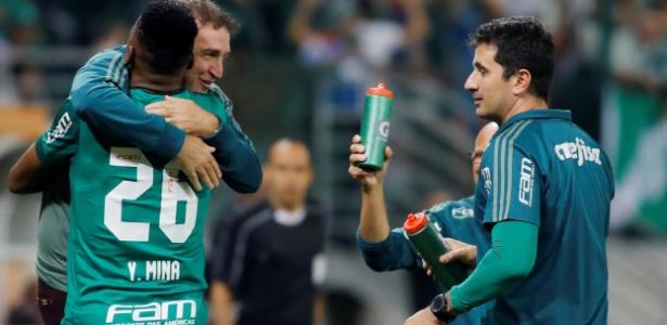 Déjà Vú no Allianz: jogada ensaiada de Cuca e gol de Mina se repetem meses depois