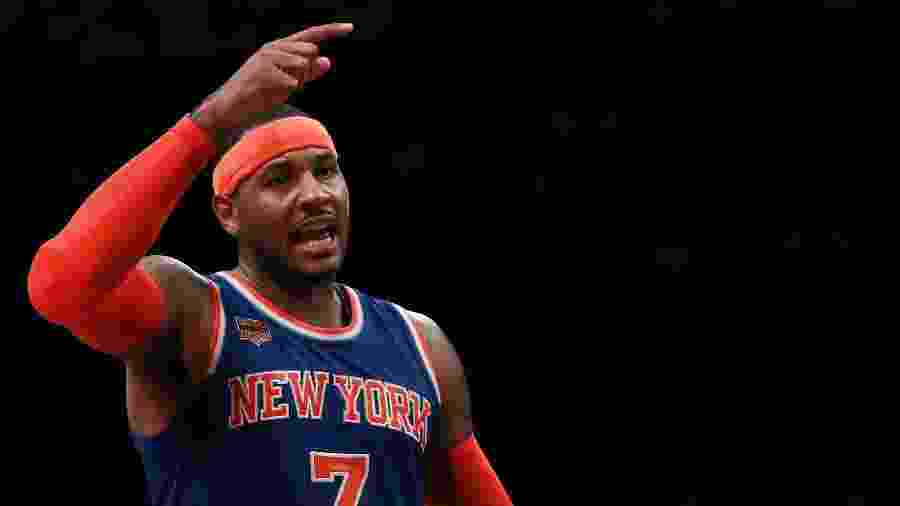 Carmelo Anthony, ex-jogador do New York Knicks - Michael Reaves/Getty Images/AFP