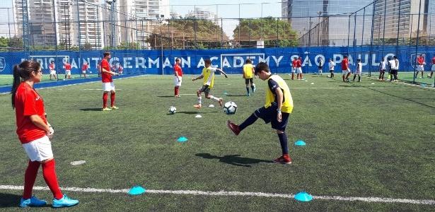 Inauguração de escolinha do PSG em São Paulo