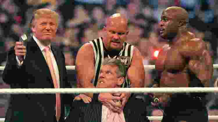 Trump e McMahon - Bill Pugliano/Getty Images - Bill Pugliano/Getty Images