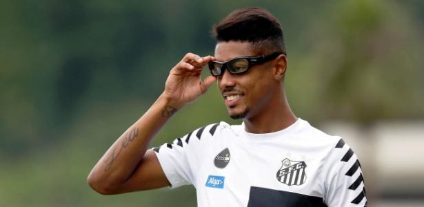 Bruno Henrique sofreu cinco lesões no olho direito no primeiro jogo do Santos em 2018