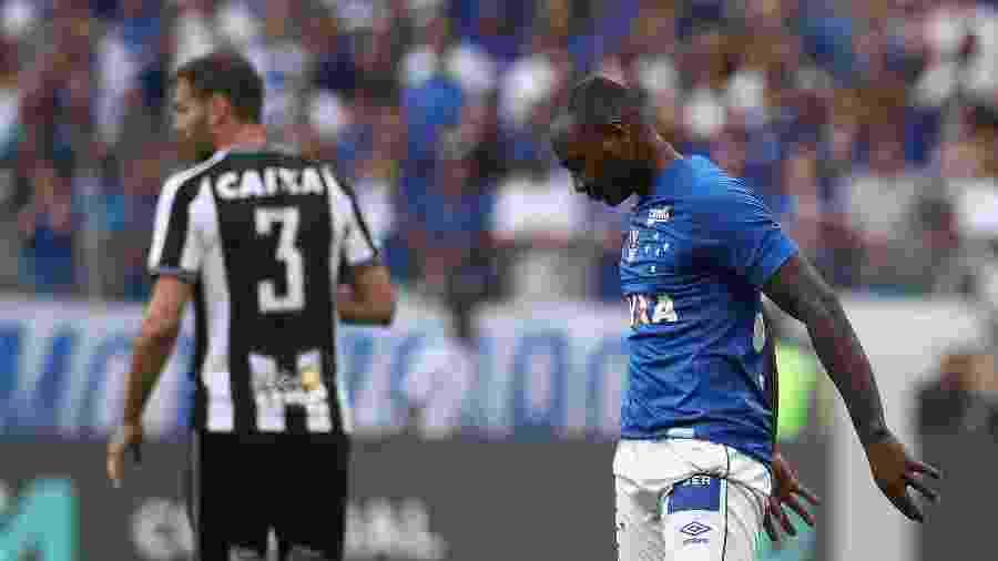Sassá provocou o Botafogo ao ser apresentado o Cruzeiro e teve porta fechada em possível retorno ao Alvinegro - Pedro Vale/AGIF