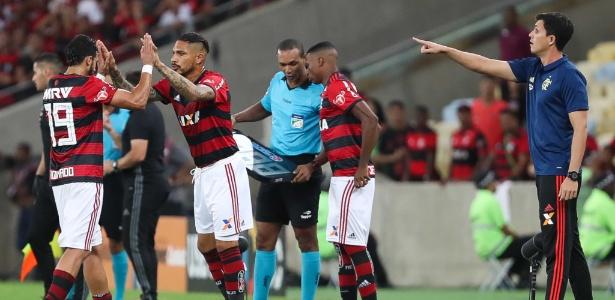Sem Guerrero, Dourado vive novo momento no Flamengo