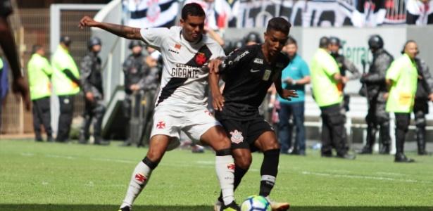 Vasco e Corinthians atuaram em Brasília. Mando era dos cariocas - Carlos Gregório Júnior / Vasco da Gama