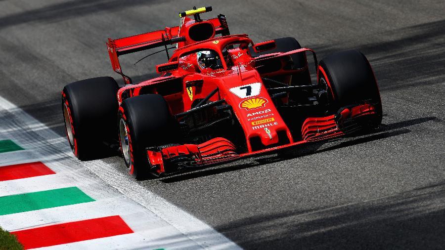 Raikkonen Ferrari Monza - Mark Thompson/Getty Images