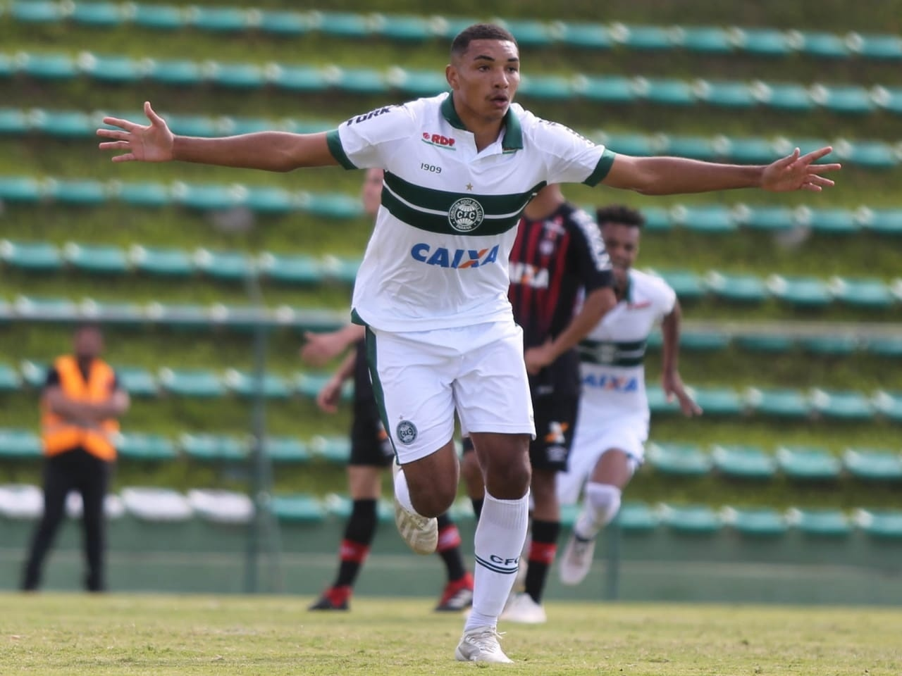 Igor Jesus, atacante da base do Coritiba