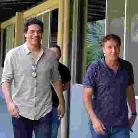 Raí, diretor-executivo, e Cuca, técnico do São Paulo - Divulgação/saopaulofc.net