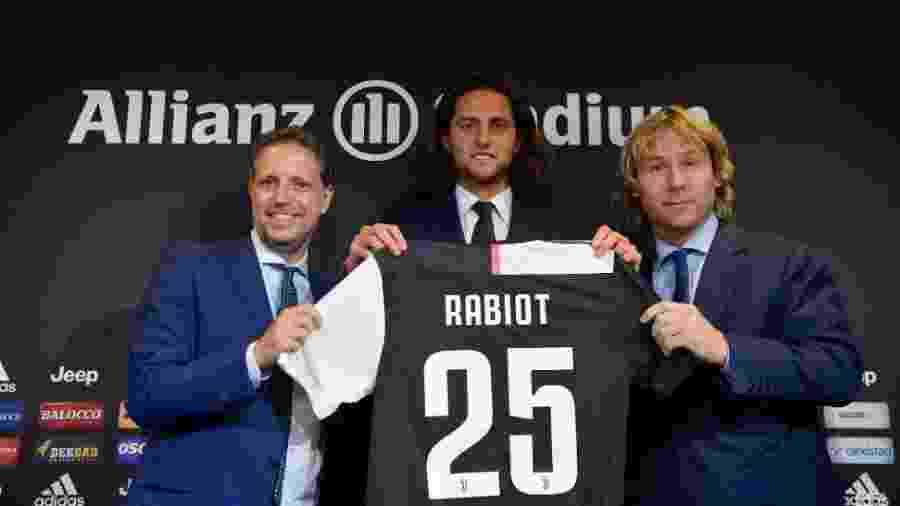 Rabiot é apresentado pela Juventus - Divulgação/Juventus