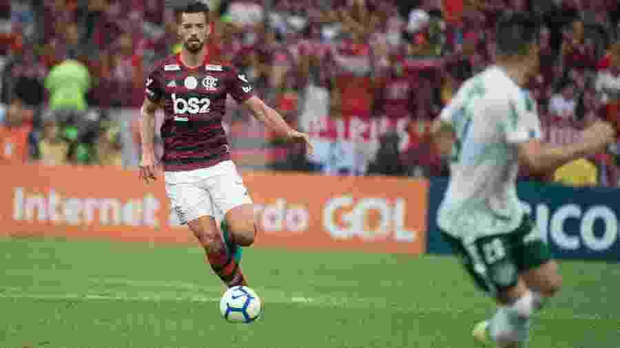 Pablo Marí foi um dos destaques do Flamengo em 2019. Jogador negocia transferência - Alexandre Vidal / Flamengo