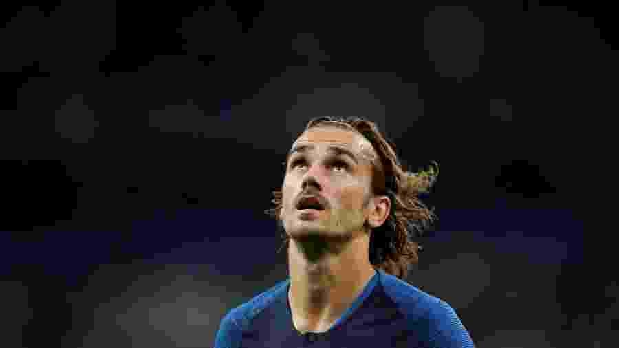Antoine Griezmann, jogador do Barcelona e da seleção francesa - Benoit Tessier/Reuters