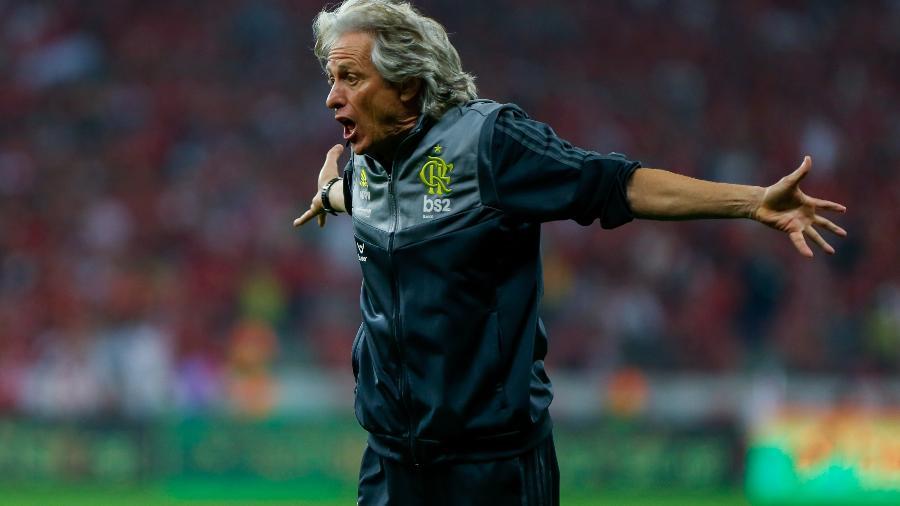 Jorge Jesus, técnico do Flamengo - Jeferson Guareze/AGIF