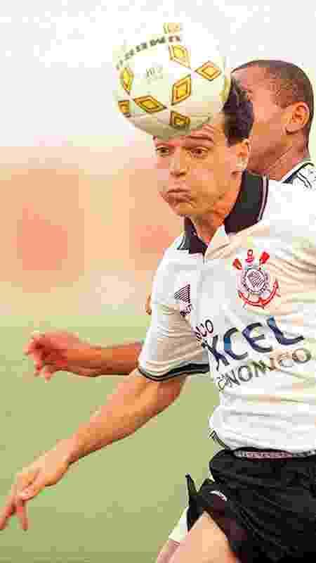 Diniz tem 50 jogos e dois gols pelo Corinthians - Eduardo Knapp/Folha Imagem