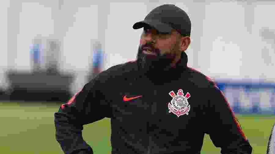 Dyego Coelho, técnico interino do Corinthians até o fim da temporada 2019 - Jr.Daniel Augusto/Corinthians
