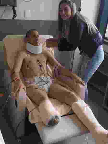 Jakson Follmann relembra seu processo de recuperação após tragédia com voo da Chapecoense - Reprodução/Instagram