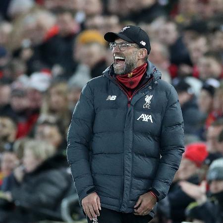 Klopp comanda Liverpool em partida contra o Sheffield United no Campeonato Inglês - Reuters/Carl Recine