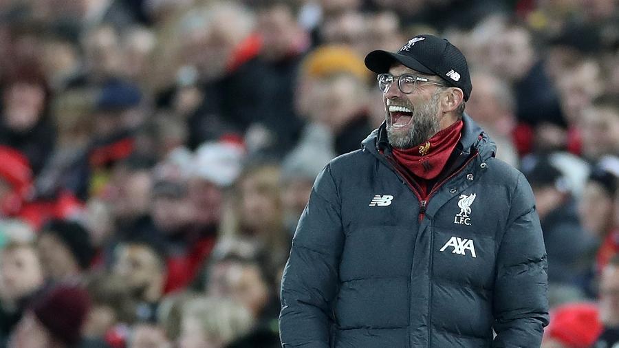 Jurgen Klopp diz que vê bons sinais no Liverpool mesmo na fase difícil - Reuters/Carl Recine