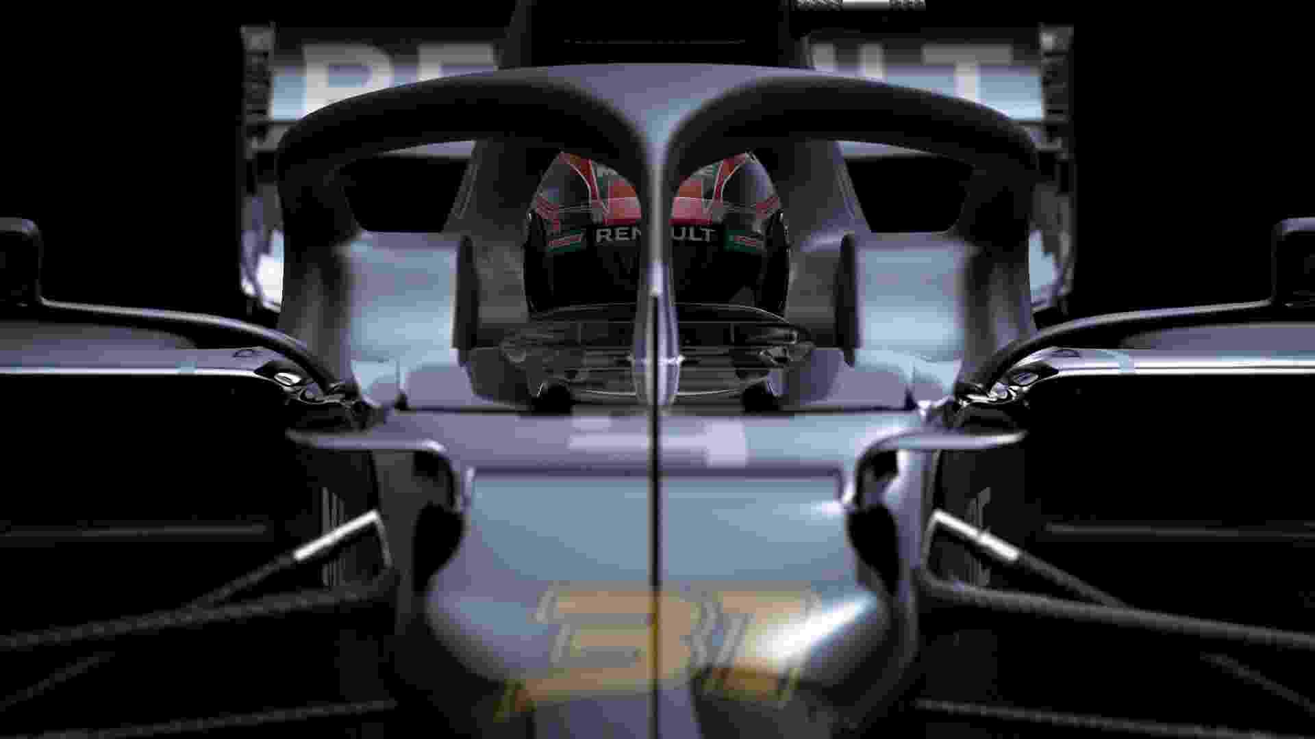 O carro só deverá ir à pista na semana que vem, nos testes coletivos - Divulgação/Renault