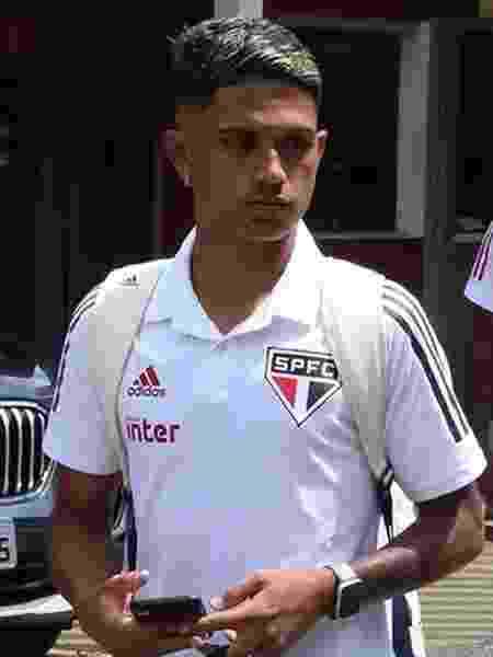 Gustavo Maia se destacou na Copa São Paulo de futebol júnior deste ano - Rubens Chiri/saopaulofc.net