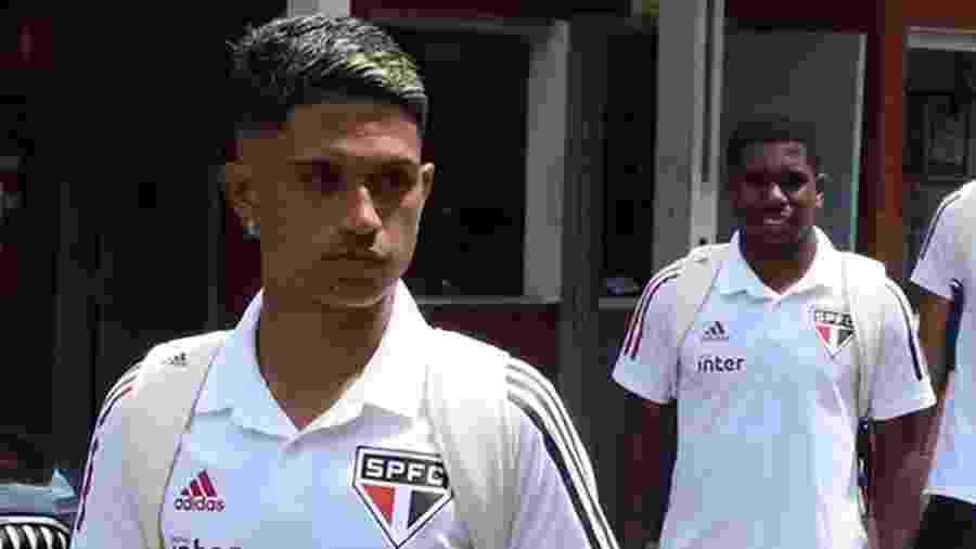 Gustavo Maia se destacou pelo São Paulo na Copinha - Rubens Chiri/saopaulofc.net